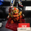"SDBF RED WARRIOR ""KURENAI MUSHA"" AMAZING thumbnail 3"