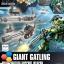 HGBC 1/144 GIANT GATLING thumbnail 1