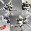 HGBF 1/144 CROSS BONE GUNDAM MAOU thumbnail 15