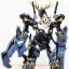MG 1/100 UNICORN GUNDAM 02 BANSHEE (TITANIUM FINISH VER.) thumbnail 10