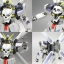 HGBF 1/144 CROSS BONE GUNDAM MAOU thumbnail 16