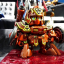 "SDBF RED WARRIOR ""KURENAI MUSHA"" AMAZING thumbnail 5"