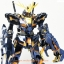 MG 1/100 UNICORN GUNDAM 02 BANSHEE (TITANIUM FINISH VER.) thumbnail 9