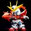 BB396 BUILD BURNING GUNDAM thumbnail 9
