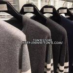 เสื้อคาร์ดิแกน THOM BROWNE-Classic wool-cardigan (Engraved Grade 1:1)