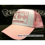 หมวกCHROME HEARTS PINK TRUCKER CAP 1:1