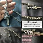 สร้อยคอChrome Hearts Dagger 8x2 Silver 925