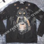 เสื้อGivenchy Rottweiler Star Stud Print Longsleeve 1:1