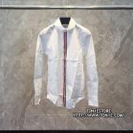เสื้อเชิ้ตTHOM BROWNE White Poplin Shirt (Engraved Grade 1:1)
