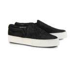 รองเท้าCELINE BLACK PONY SLIP-ON SNEAKER 1:1 [เทียบแท้]
