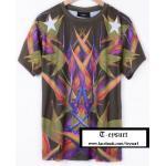 เสื้อGivenchy BirdOfParadise-Print BestMirror