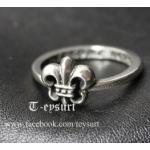 แหวนChrome Hearts Scout FlowerเกรดMirror1:1