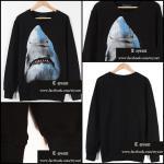 เสื้อGivenchy Shark Longsleeve-Print Best Mirror