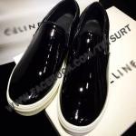 รองเท้าCeline Black Slip on Sneaker