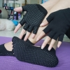 (พรีออเดอร์) ถุงมือ ถุงเท้าโยคะ กันลื่น YKSM30-49
