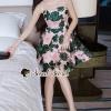 ชุดเดรสเกาหลีพร้อมส่ง Pinkky Emer Blossom Dress