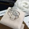 พร้อมส่ง Chanel Ring แหวนชาแนลงานเพชร CZ แท้