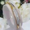 พร้อมส่ง Diamond Bangle งานสวยมากกกกก เพชร CZ แท้
