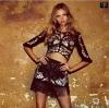 เสื้อผ้าแฟชั่นพร้อมส่ง Love&Lemons Women's Black Mallorca Crop Top & Skirt