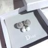 พร้อมส่ง Dior Circle TRIBAL earring ต่างหูดิออร์ทรงกลมฉลุ