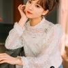 เสื้อผ้าเกาหลี พร้อมส่งเสื้อขาวทรงน่ารักๆ