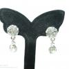 E79038 The Fancy Diamond Earring ต่างหูเพชร