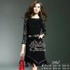 ชุดเดรสเกาหลี พร้อมส่งSmart-Looking Premium Lady Dress