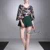 เสื้อผ้าเกาหลีพร้อมส่ง imited edition flower playsuit