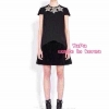 เสื้อผ้าเกาหลี พร้อมส่ง Miu Miu Star Dress 2015