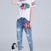 เสื้อผ้าเกาหลี พร้อมส่ง T + Denim Jean Series 3