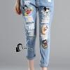 เสื้อผ้าแฟชั่น พร้อมส่งMickey World Denim Jean
