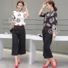 เสื้อผ้าเกาหลี พร้อมส่ง Two Pieces Of Chinese Girl Blouse With Pants Sets
