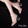 Glass High Heel Shoes High Quality Item ....