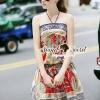 ชุดเดรสเกาหลี พร้อมส่งRomana Style Reddy Tonny Dress