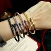 พร้อมส่ง ตะปู Cartier ไม่มีเพชร รุ่น Juste un clou bracelet