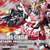 HGUC 1/144 UNICORN GUNDAM (DESTROY MODE) - TITANIUM FINISH