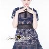 ชุดเดรสเกาหลี พร้อมส่งSPT Princess Naviestly Lace Dress