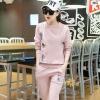 เสื้อผ้าเกาหลี พร้อมส่งชุดเซท 2 ชิ้น เสื้อแขนยาว++กางเกงขายาว