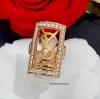 พร้อมส่ง YSL Swiss Diamond Ring งานเพชรสวิสแท้ เพชรเกรด 6A