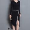 ชุดเดรสเกาหลี พร้อมส่งCoCo Stylish Luxury Dress