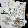 พร้อมส่ง Chanel Necklace งานพรีเมี่ยมนะคะเพชรเหลี่ยมสวยฟรุ้งฟริ้งมากๆ