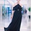ชุดเดรสเกาหลีพร้อมส่ง Dress ยาวคอคอปาด