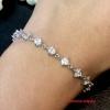 พร้อมส่ง Diamond Bracelet สร้อยข้อมือเพชรขนาดเล็ก งานเพชร CZ แท้