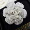 พร้อมส่ง diamond Camelia chanel เข็มกลัดชาแนล ทรงดอกคาเมเลีย ฝังเพชรสวิสแท้