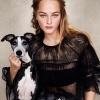 เสื้อผ้าแฟชั่นพร้อมส่ง เสื้อลูกไม้ตาข่ายพลีทลายจุดคอระบาย งานแบรนด์ Christain Dior