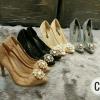 D&G lace รองเท้าคัชชูส้นสูง งานลูกไม้