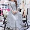 ชุดเดรสเกาหลี พร้อมส่งLong Dress -งดงาม สวยหรูและดูแพงมาก
