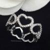 พร้อมส่ง Diamond Ring งานเพชร CZ แท้ ดีไซส์หัวใจฝังเพชร