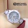 Michael Kors เข็มล่างใช้ได้ สายผสมอะคิลิค หน้าปัด 35 mm ราคา 890 บาท