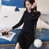 เสื้อผ้าเกาหลี พร้อมส่งชุดเซท เสื้อ+กระโปรงผ้าไหมพรมค่ะ